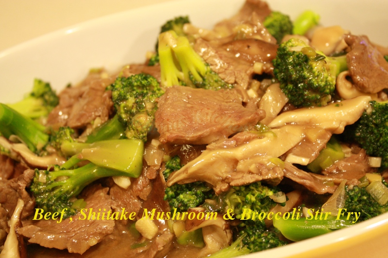 noodle stir fry with choy sum and shiitake mushrooms easy stir fried ...