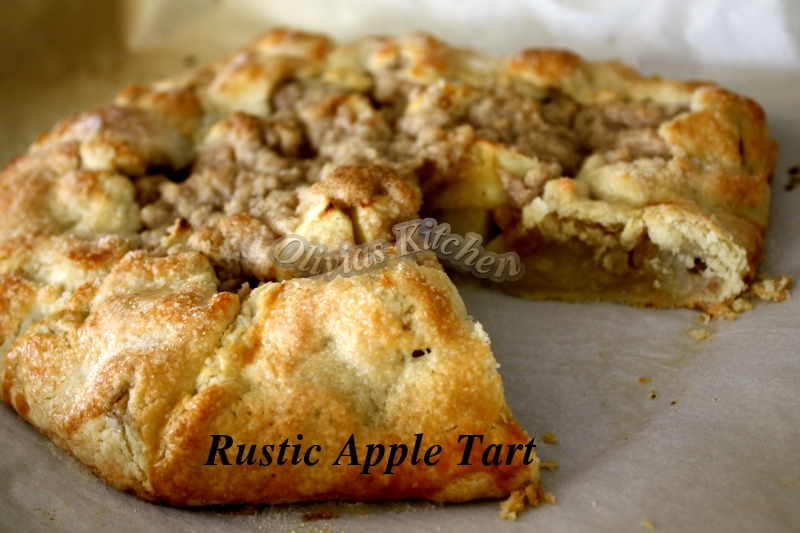 Rustic Apple Tart | Olivia's Kitchen n Crafts
