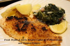 broiled catfish