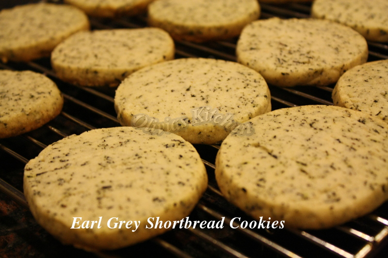shortbread cookies put earl grey tea in earl grey tea shortbread left ...