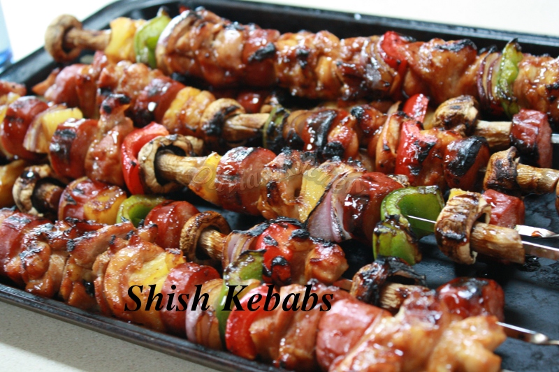 how to prepare potatoes for shish kabobs