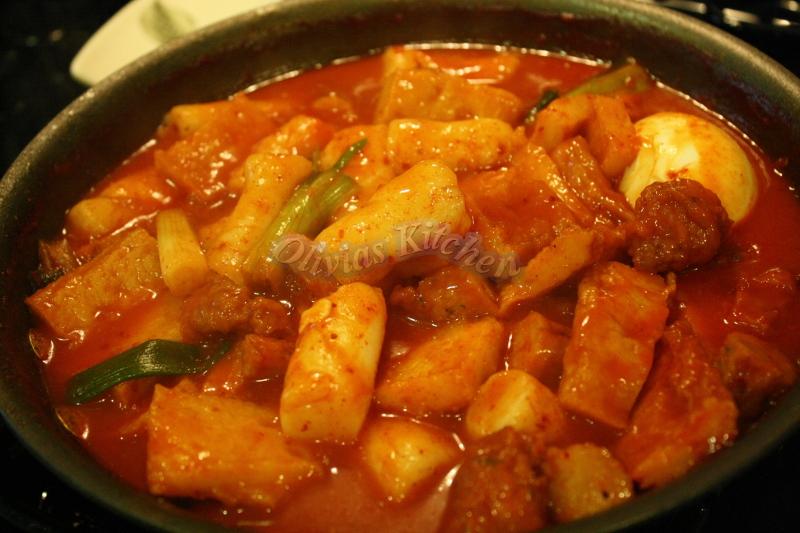 Hot Spicy Rice Cake Olivia S Kitchen N Crafts