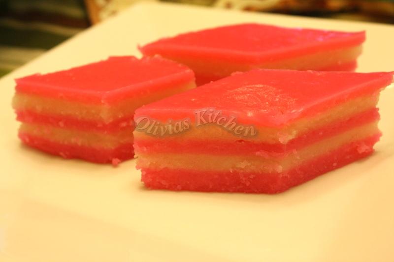 Kue Lapis Tepung Beras Traditional Layer Cake Olivias
