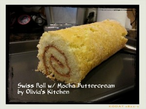 mocha swiss roll
