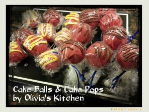 cake pops and balls